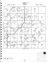 Noble Township - East, Valley County 1995