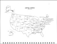 United States Map, Valley County 1995