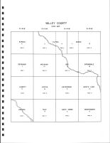 Valley County Code Map, Valley County 1995