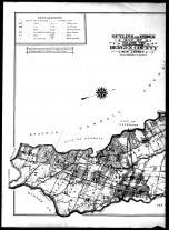 Index Map - Left, Bergen County 1912 Vol 2
