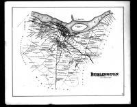 Burlington Township, Edgewater, Stevensville Station and Burlington City, Burlington County 1876