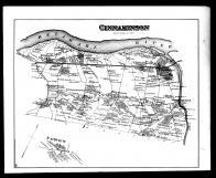 Cinnaminson Township, Palmyra P.O., Cambridge, North Pennsville, Riverside P.O., Riverton P.O., Burlington County 1876