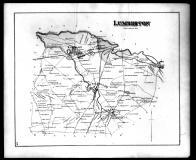 Lumberton Township, Mount Holly, Hainesport, Eayrestown and Lumberton P.O., Burlington County 1876