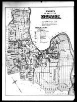 Index Map - Newark City, Essex County 1881