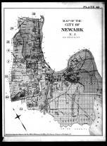 Index Map - Newark City, Essex County 1890