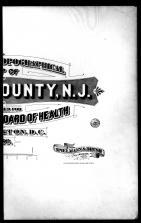 Title Page - Right, Hudson County 1880