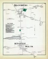 Branchburg, Oceanville, Deal P.O., Monmouth County 1873
