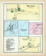 Holmdel, Marlboro, Edinburg, Colts Neck, Monmouth County 1873