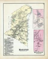 Matavan Township, Mount Pleasant, Monmouth County 1873