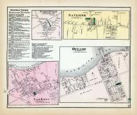 Parkerville, Navesink, Fair Haven, Oceanic, Monmouth County 1873