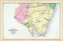 Shrewsbury and Ocean Townships, Monmouth County 1873