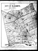 Index Map - Elizabeth City - Left, Union County 1906