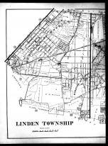Plate 012 - Linden Townhsip Left, Union County 1906