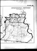 Plate 026 - Springfield Township and Springfield Right, Union County 1906