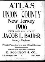 Title Page, Union County 1906