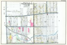 Plate 020 - Tax Districts V, X and XI, Buffalo 1915 Vol 1