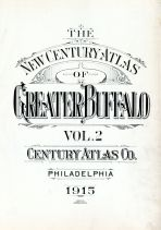 Title Page, Buffalo 1915 Vol 2