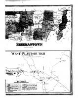 Beekmantown Township, West Plattsburgh, Clinton County 1869 Microfilm