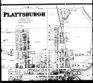 Plattsburgh - Above Middle, Clinton County 1869 Microfilm