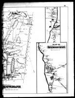 Austerlitz Township, Spencertown and Austerlitz - Right, Columbia County 1888