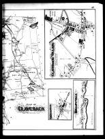 Claverack Township, Churchtown, Claverack Village, Hollowville, Mellenville and Philmont - Right, Columbia County 1888
