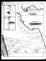 Clermont Township and Clermont, Columbia County 1888