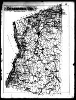 Columbia County Map, Columbia County 1888