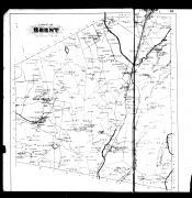 Ghent Township, Chatham, West Ghent, Ghent and Pulver's Station, Columbia County 1888