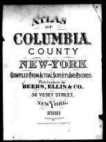 Title Page, Columbia County 1888