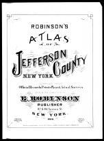 Title Page, Jefferson County 1888