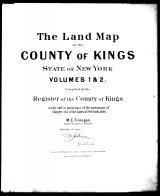 Title Page, Kings County 1894 Vols 1 and 2