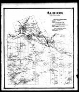 Albion Township, New Centreville P.O., Salmon River P.O., Sand Bank P.O. and Dugway P.O., Oswego County 1867