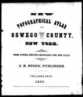 Title Page, Oswego County 1867