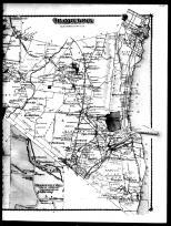 Orangetown Township - Right, Orangeburg, Palisades, Pearl River, Orangeville Mills, Tappan and Sparkill, Rockland County 1875