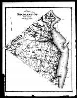 Rockland County Map, Rockland County 1875