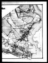 Stony Point Township - East, Grassy Point, Montville, Caldwells Landing, Tomkins Cove P.O. and Stony Point, Rockland County 1875