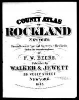 Rockland County 1875
