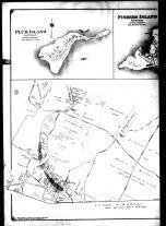 Plate 007 Left - Brookhaven, Riverhead, Manorville, Plum Island, Fishers Island and Chocomount, Suffolk County 1909 Vol 2 Long Island