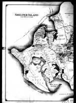Plate 013 Left - Shelter Island, West Neck and Sachems Neck, Suffolk County 1909 Vol 2 Long Island