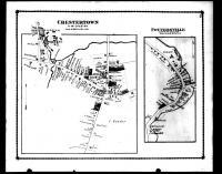 Chestertown and Pottersville, Warren County 1876