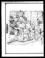 Luzerne Township, Luzerne P.O. and Hadley Station - Above, Warren County 1876