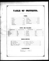 Table of Contents, Warren County 1876