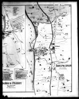 Hastings, Dobbs' Ferry and Irvington - Right, Westchester County 1872