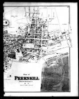 Peekskill, Verplanck and Cortlandt Cemetery - Right, Westchester County 1872