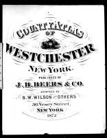Title Page, Westchester County 1872