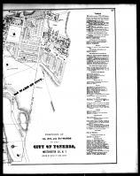 Yonkers City - 1st, 2nd and 3rd Wards - Right, Westchester County 1872