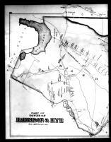 Harrison and Rye Townships, Purchase P.O. Left, Westchester County 1881