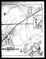 New Rochelle and Huguenot Park Right, Westchester County 1881