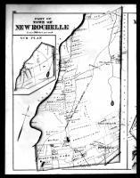 New Rochelle and Mamaroneck Townships Left, Westchester County 1881