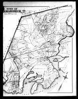 New Rochelle and Mamaroneck Townships Right, Westchester County 1881